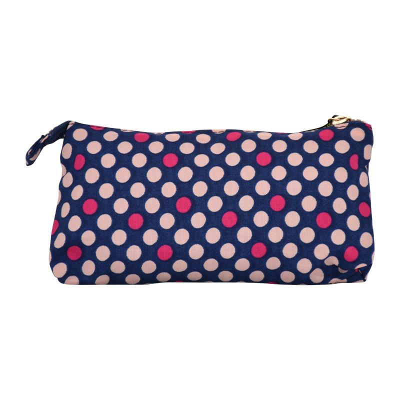 Pencil Case Miss Lemonade Pink Dots