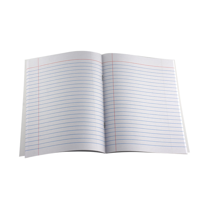 EXERCISE BOOK SINGLE LINE W/LEFT MARGIN 120 PAGES