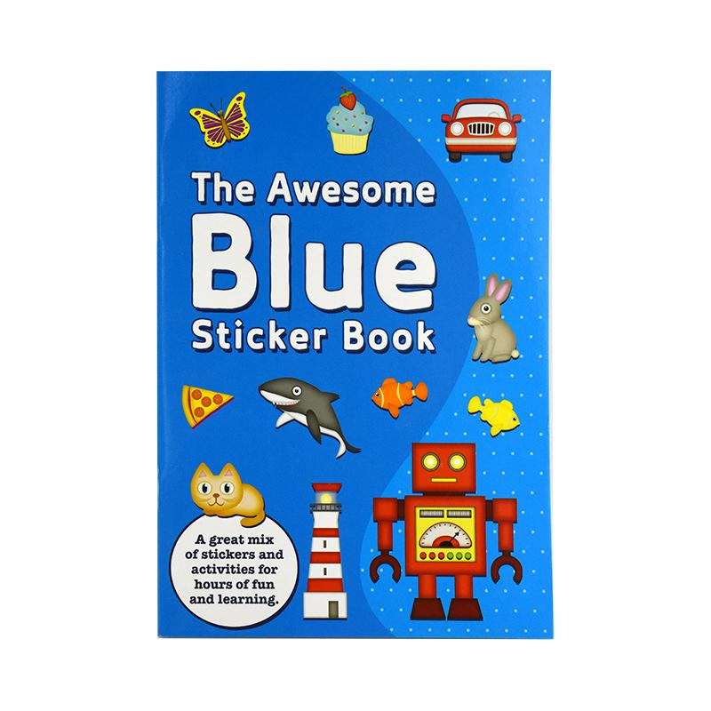 THE AWESOME BLUE STICKER BOOK