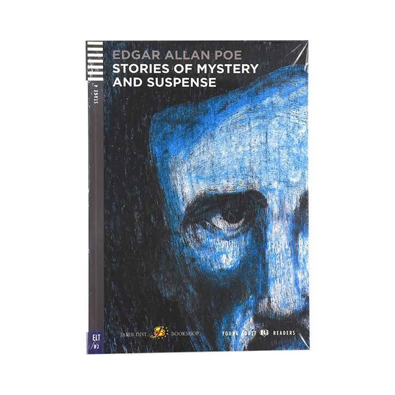 STORIES OF MYSTERY AND SUPENSE STAGE 4+CD