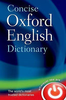 CONCISE OXFORD ENGLISH DICTIONARY HB 12E