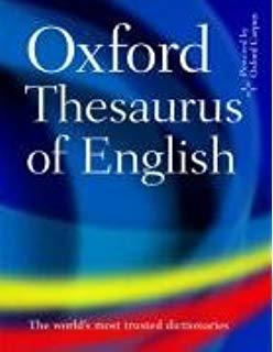 OXFORD THESAURUS OF ENGLISH HB 2E REVISED
