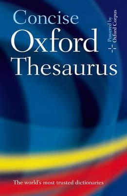 CONCISE OXFORD THESAURUS HB 3E