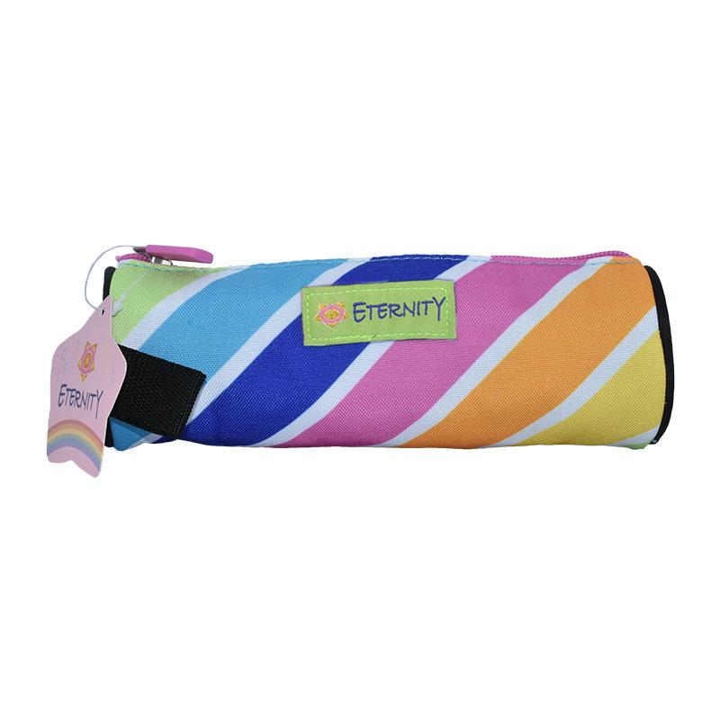 Pencil Case Round Rainbow