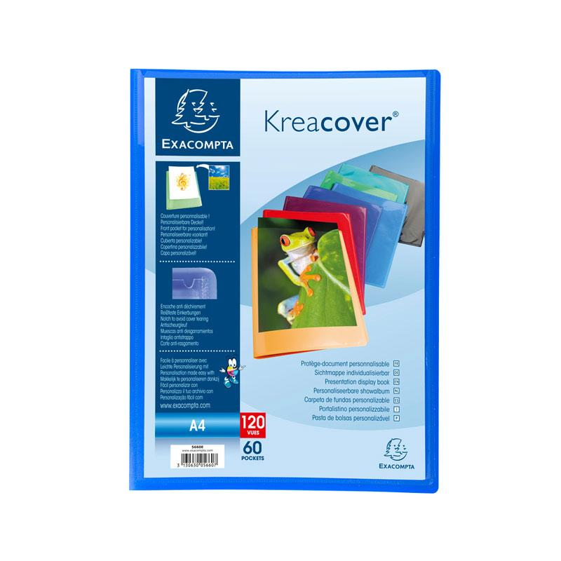 Display Books A4 60 Pockets Kreacover