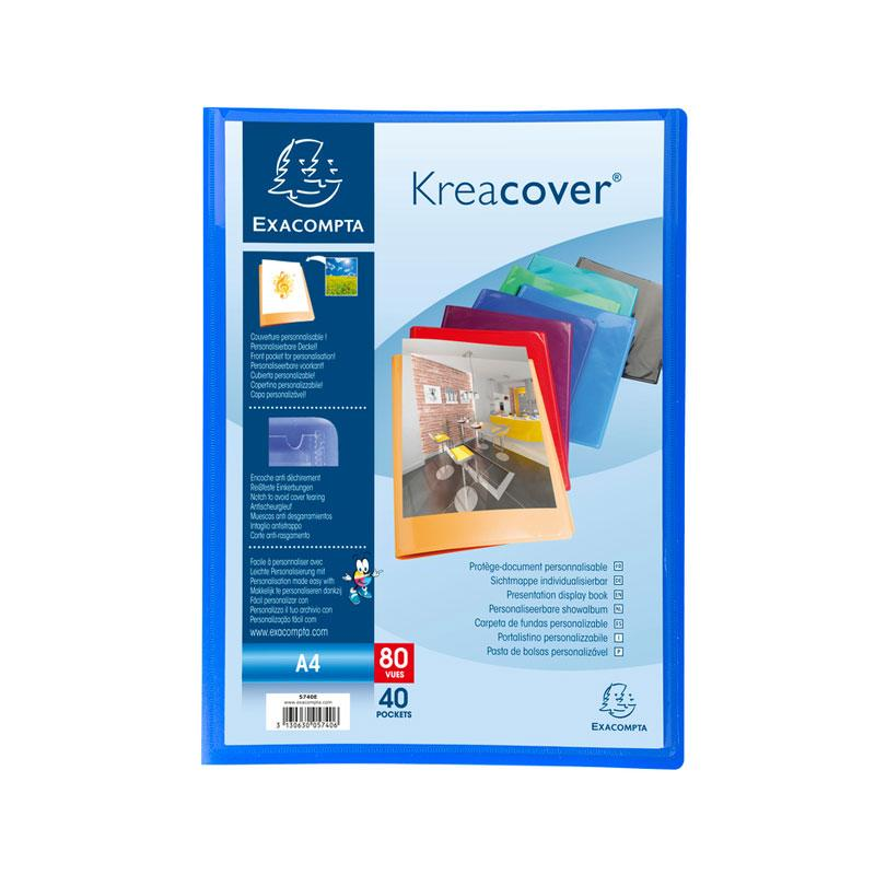 Display Books A4 40 Pockets Kreacover