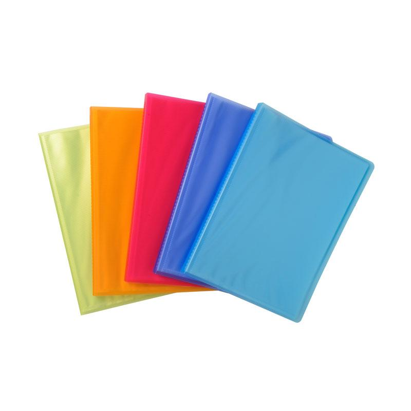 Display Books A4 20 Pockets Linicolor