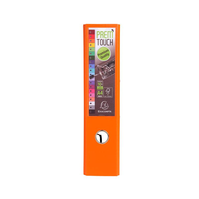 Lever Arch File 70mm A4 Premium Orange