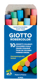 Giotto Robercolor Color Chalk 10pieces Pack-538900