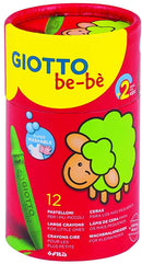 Giotto bebe Crayon 12Color In Tube-472100