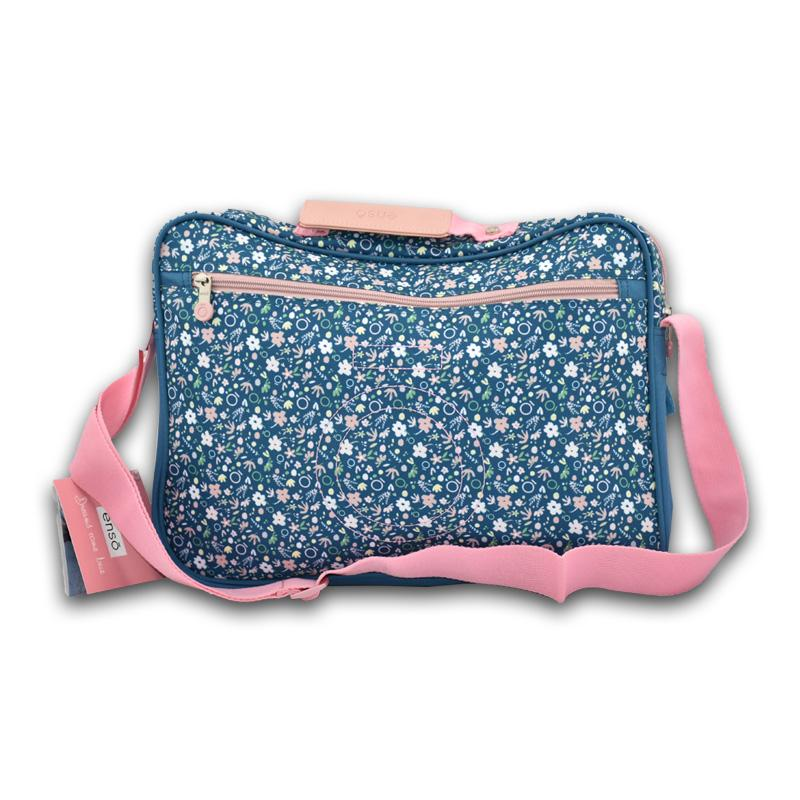 Laptop Bag Blue Garden