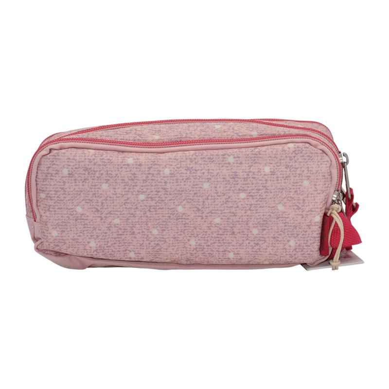 Pencil Case 3 Compartments Pepe Jeans-Olaia