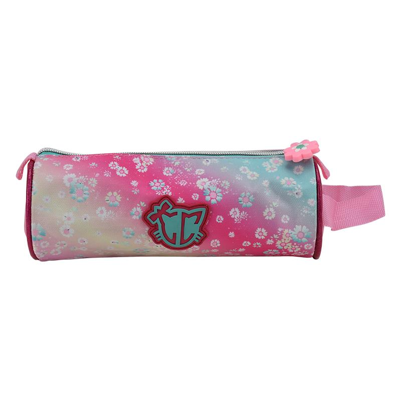 Pencil Case Round Lovely Cat LCA