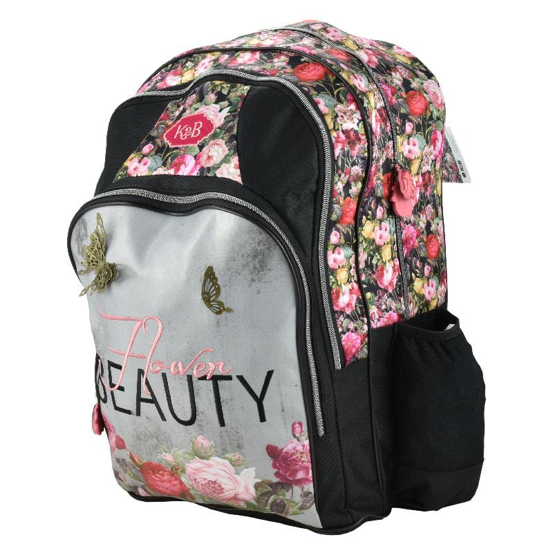 "Back Pack 18"" Flower Beauty"