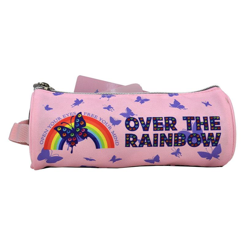Pencil Case Round Over The Rainbow