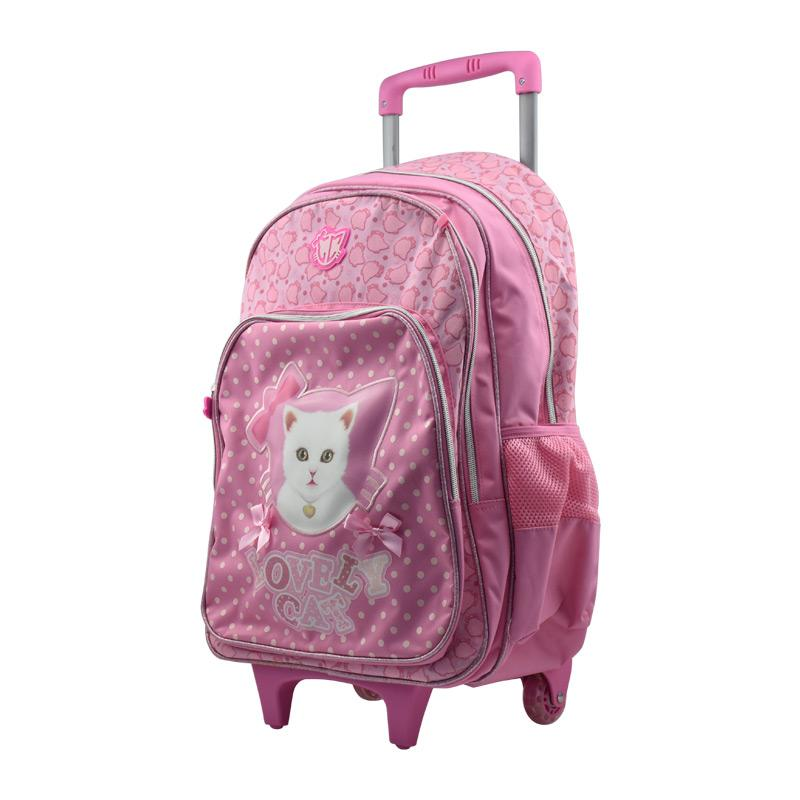 "Trolley Bag 19"" Lovely Cat"