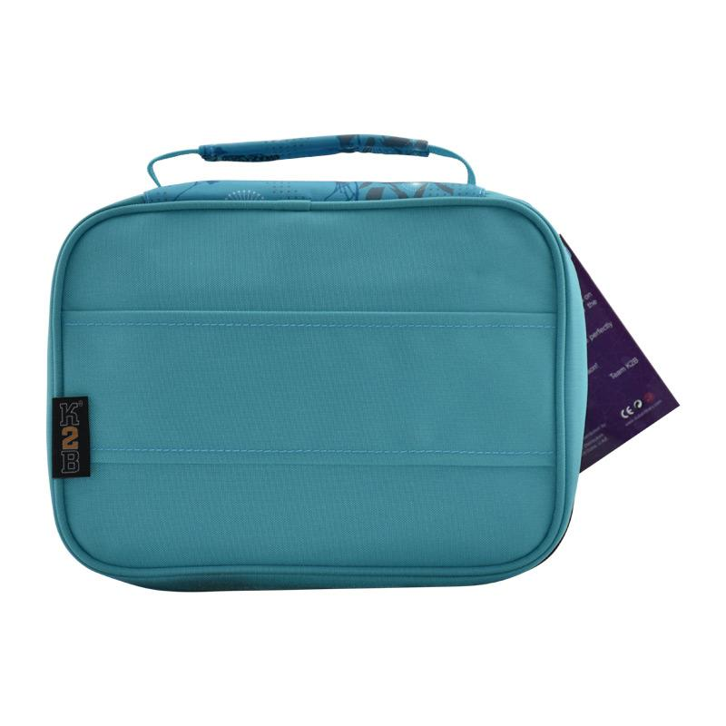 Lunch Bag Blue Buttrefly