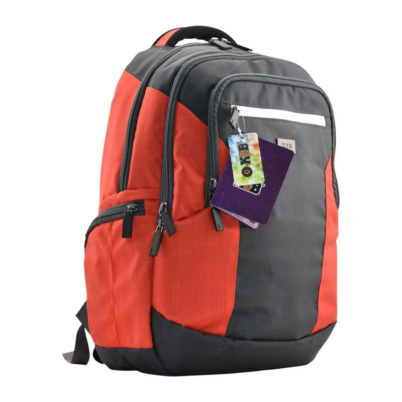 Back Pack Grey/Red