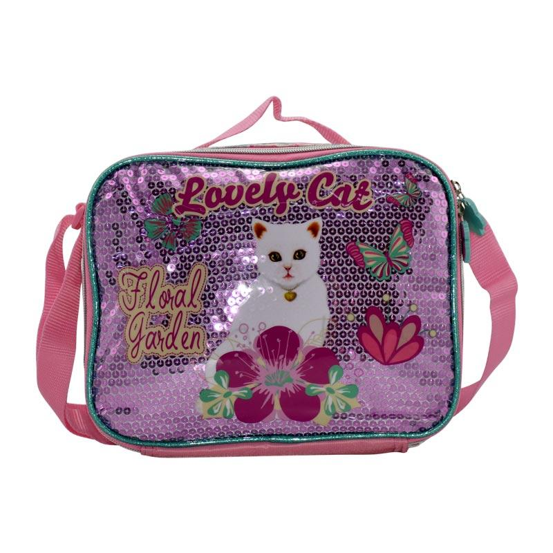 Lunch Bag Lovely Cat - 8-LCB-LB