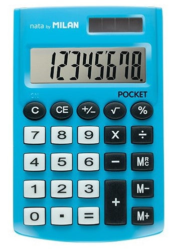 Calculator Small Rubber Touch Mix