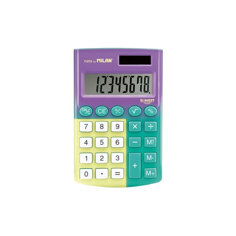 Calculator 12Digit Sunset-159512SN