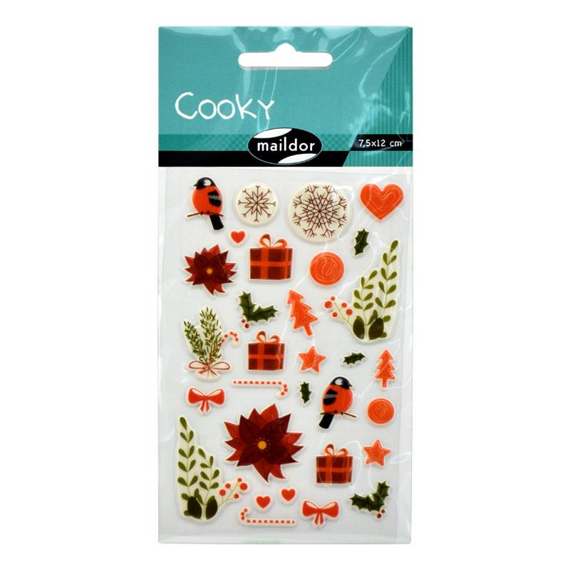 Sticker Cooky Flower