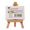Easel W/Canvas Mini 6X8cm-MEA0018