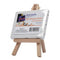 Easel W/Canvas Mini 8X10cm-MEA0019