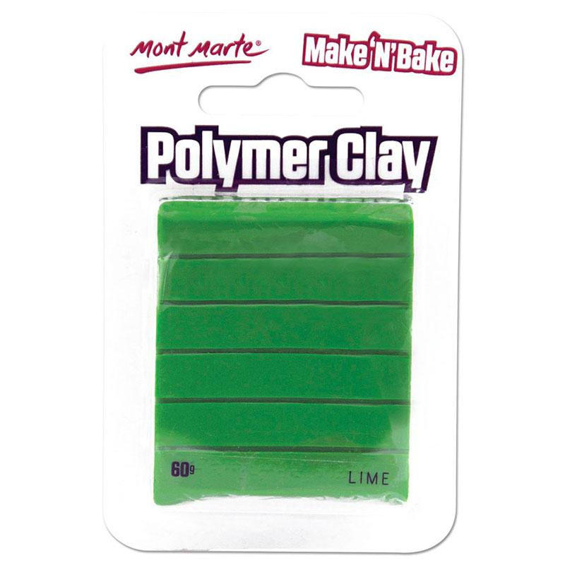 Polymer Clay Make N Bake Lime