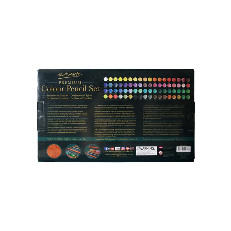 Color Pencil Premium 72 Pcs-MPN0119