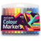Colour Markers 24Pce In Case-MMPM0006