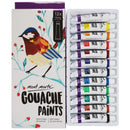 Gouache Paints 12Pce X 12ml-PMHS0028
