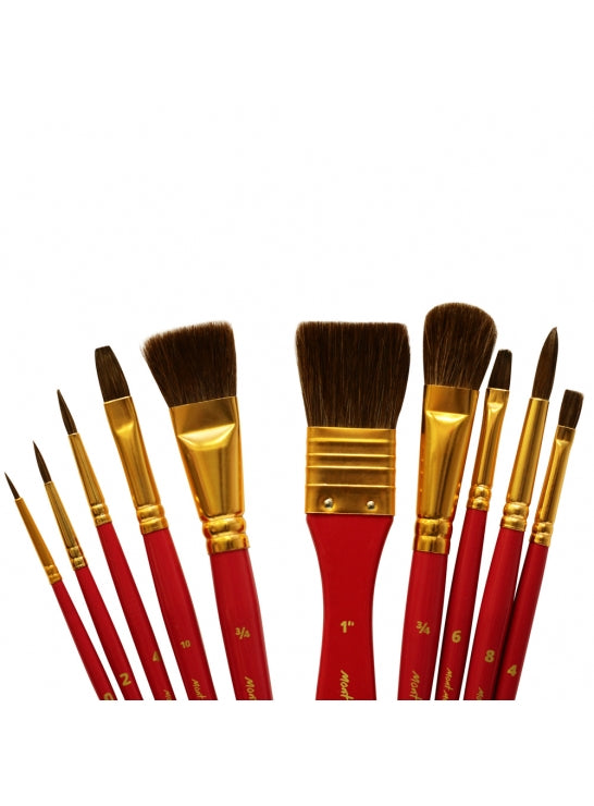 Water Color Brush Set 11 Pieces-BMHS0032