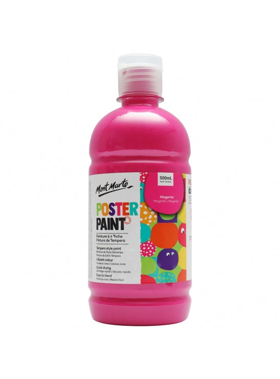 Poster Paint 500ml Mgenta-MPST0008