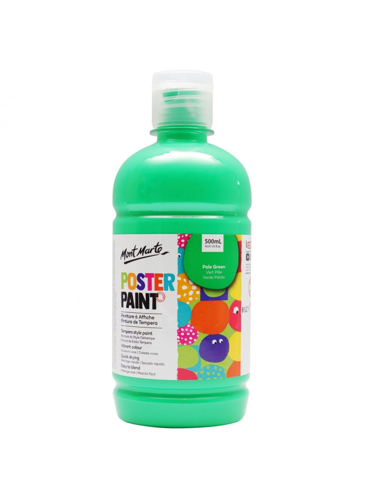 Poster Paint 500ml Pale Green-MPST0022