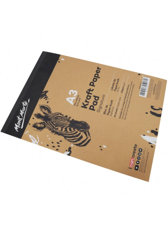 Craft Paper Sketch Pad A3 115gsm 50Sheet-MSB0095