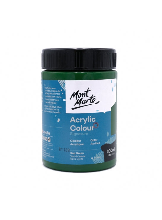 Acrylic Color 300ml Sap Green-MSCH3026