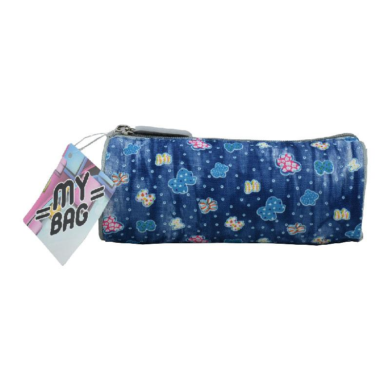 Pencil Case Round Butterfly