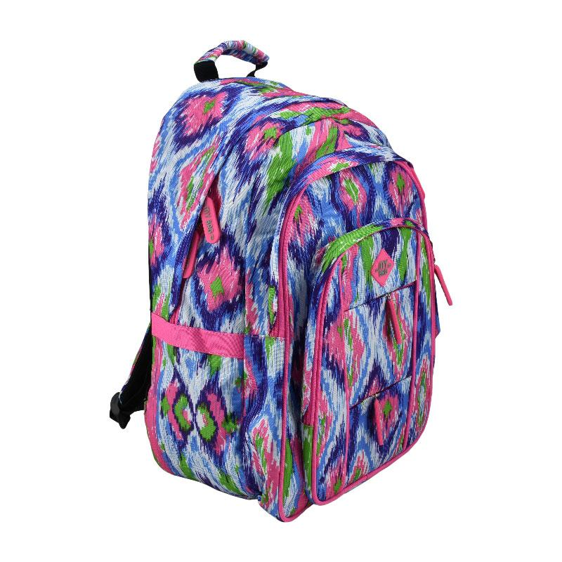 Back Pack Pink/Blue/Green
