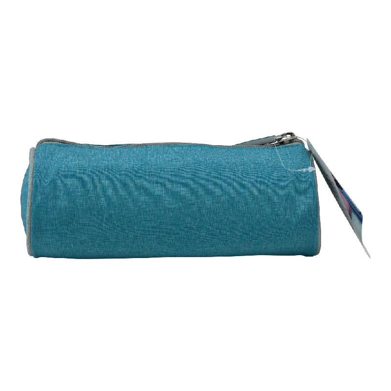 Pencil Case Round French Blue