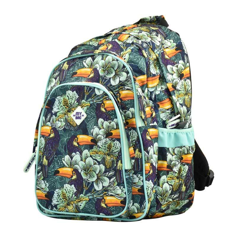 Back Pack Bird/Flower
