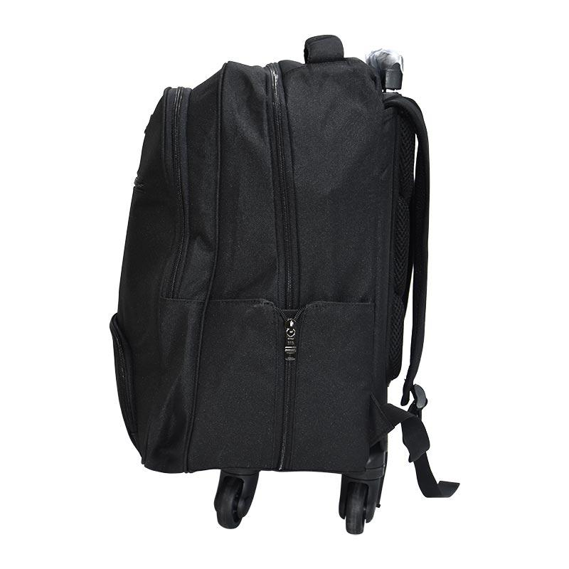Trolley Bag 4 Wheel Black