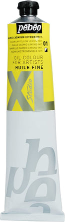Pebeo XL Fine Oil 200ml Cadmium Lemon Yellow-200001