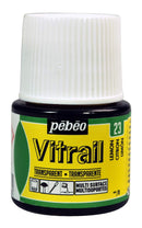 Pebeo Vitrail Glass paint 45ml Lemon-050023