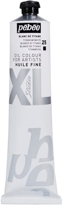 Pebeo XL Fine Oil 200ml Titanium White-200025