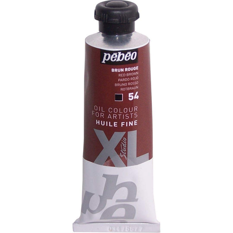 Pebeo XL Fine Oil 200ml Red Brown-200054