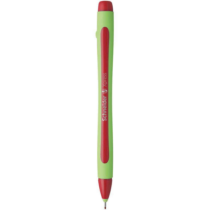 Schneider Fineliners Xpress 0.8mm Red-190002
