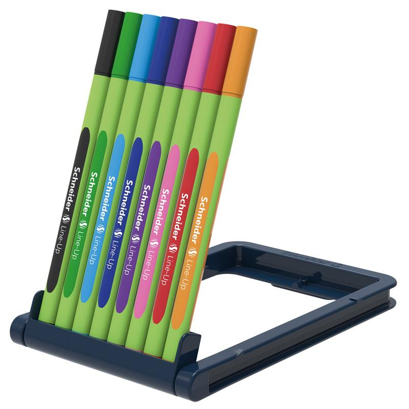 Schneider Fineliners Line-Up 0.4mm 8 Clr Set