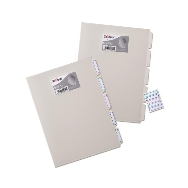 Section Folder 5 Part Slipfile Clear