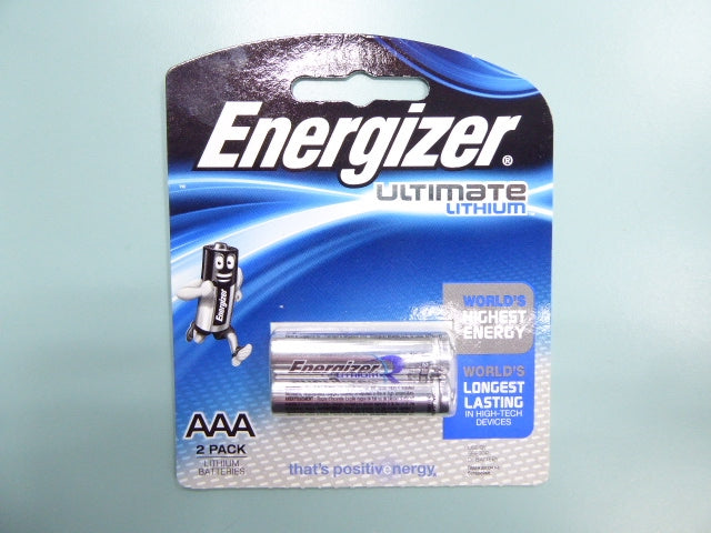 Energizer L92 AAA Ultimate Lithium Battery, (Pack of 4)